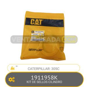 1911958K KIT DE SELLOS CILINDRO 305C, CATERPILLAR