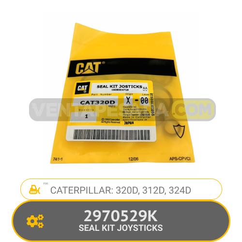 2970529K SEAL KIT JOYSTICKS 320D, 312D, 324D CATERPILLAR